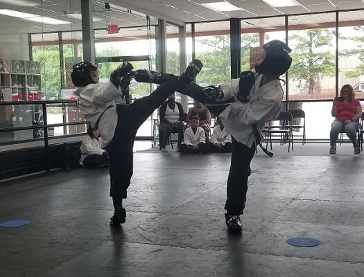 youth sparring